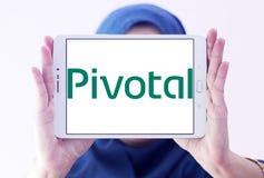 Kluczowy firma softwarowa logo Zdjęcie Stock