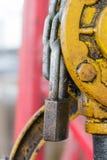 Kluczowy kędziorek łańcuch Obraz Royalty Free