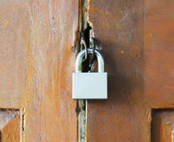 Kluczowy kędziorek drzwi Zdjęcia Royalty Free