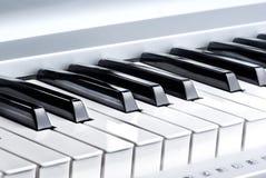 kluczowy pianino Obraz Royalty Free