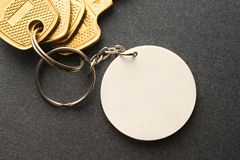 Kluczowy pierścionek Fotografia Stock