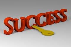 kluczowy sukces Zdjęcia Stock