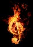 kluczowy szyldowy skrzypce Obraz Royalty Free