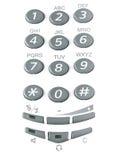 kluczowy telefon Zdjęcie Stock