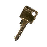 kluczowym metalu Zdjęcia Royalty Free
