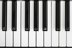 kluczowym pianino zdjęcia royalty free