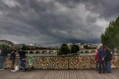 Kluczy mosty Zdjęcia Stock