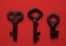 kluczyki antykwarscy Fotografia Royalty Free
