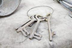 kluczyki antykwarscy Zdjęcie Stock