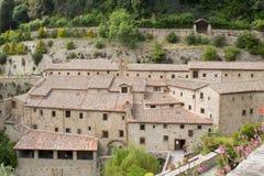 Kluiscellen van St Francis van Assisi, Royalty-vrije Stock Foto's