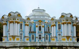 Kluispaviljoen in Catherine Palace Stock Afbeeldingen