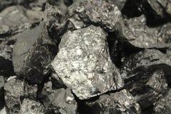 Klumpa sig av kolbakgrund Royaltyfria Foton