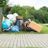 Klumpig avfalls Royaltyfri Fotografi