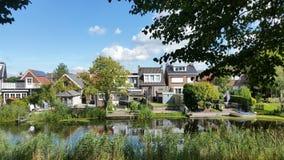 Klundert/Nederländerna Royaltyfria Bilder