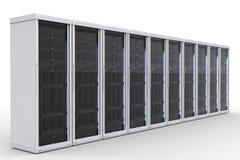 Klunga för serverdator Arkivbild
