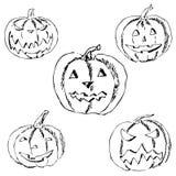 kluseczko halloween Ołówkowy rysunek ręką Zdjęcie Stock