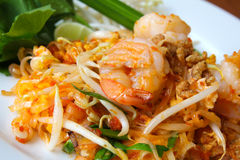 klusek karmowi smażący ryż mieszają tajlandzkiego Zdjęcie Royalty Free