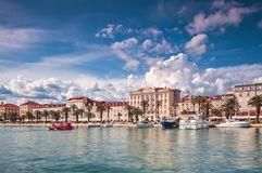 Kluven stadKroatien Royaltyfria Bilder