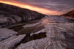 Kluvit i ön Esusaret Fotografering för Bildbyråer