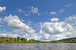 Klyazma river (Russia) Royalty Free Stock Photos