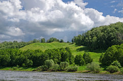 Klyazma river (Russia) Royalty Free Stock Photography