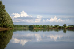 Klyazma river (Russia) Stock Photography
