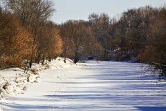 Klyazma river in Shchyolkovo. Russia Royalty Free Stock Photography