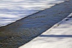 Klyazma river in Shchyolkovo. Russia Stock Photography