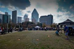 Klyde Warren Park à Dallas Images stock