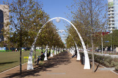 Klyde Warren Park Royalty Free Stock Image