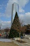Klyde Warren Park in Dallas Stock Foto's