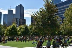 Klyde Warren Park in Dallas, Texas Stock Image