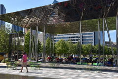 Klyde Warren Park in Dallas, Texas Royalty Free Stock Images