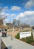 Klyde Warren Park en Dallas Imágenes de archivo libres de regalías