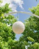 Klyde Warren Park. In Spring Royalty Free Stock Image