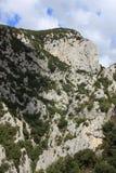 Klyfta de Galamus, Frankrike Royaltyfri Bild