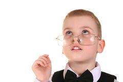 klyftig övre watch för pojke royaltyfria bilder