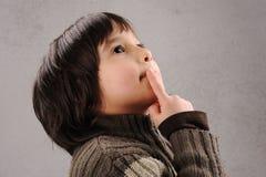 klyftig ungeschoolboyserie Fotografering för Bildbyråer