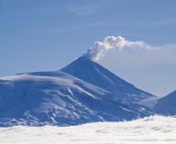 Klyuchevskoi Volcano Stock Photos