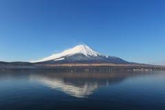 100km富士日本挂接东京视图西方冬天 库存图片