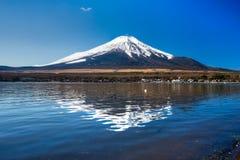 100km富士日本挂接东京视图西方冬天 免版税库存照片