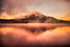 100km富士日本挂接东京视图西方冬天 免版税图库摄影