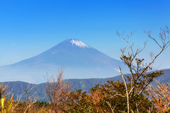 100km富士日本挂接东京视图西方冬天 图库摄影