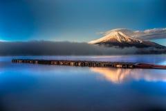 100km góry Fuji Japonii uwagi na zachodniej zimy Tokio Zdjęcia Royalty Free