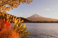 100km góry Fuji Japonii uwagi na zachodniej zimy Tokio Fotografia Stock