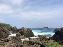 KM 0 Java Island Arkivbilder