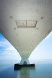 5 km snakken Zeelandbrug, Zeeland, Nederland Royalty-vrije Stock Afbeelding