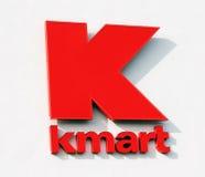 kmart徽标 库存图片