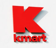 Kmart Logo. On a white wall Stock Images