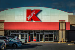 Kmart retail store exterior Stock Photos
